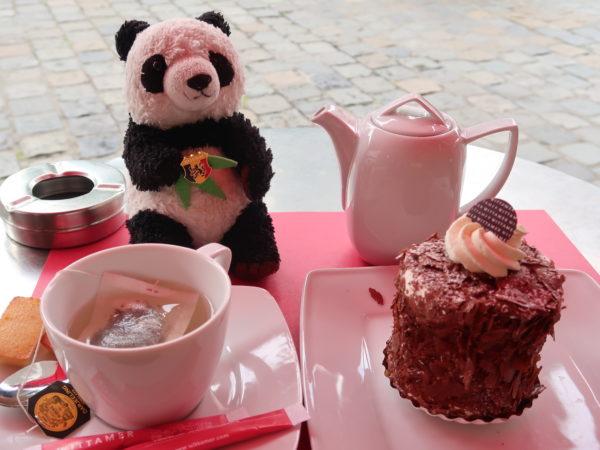 wittamerヴィタメールのケーキと紅茶