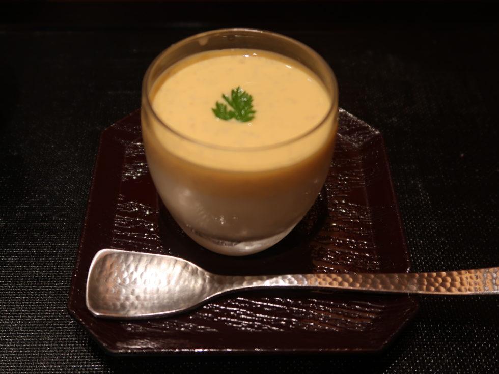 銀座鮨一の豆乳プリン