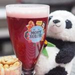 グランプラスのレストランLaRoseBlancheのレッドビール