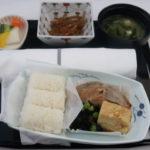 ANA国際線ビジネスクラス機内食の和食
