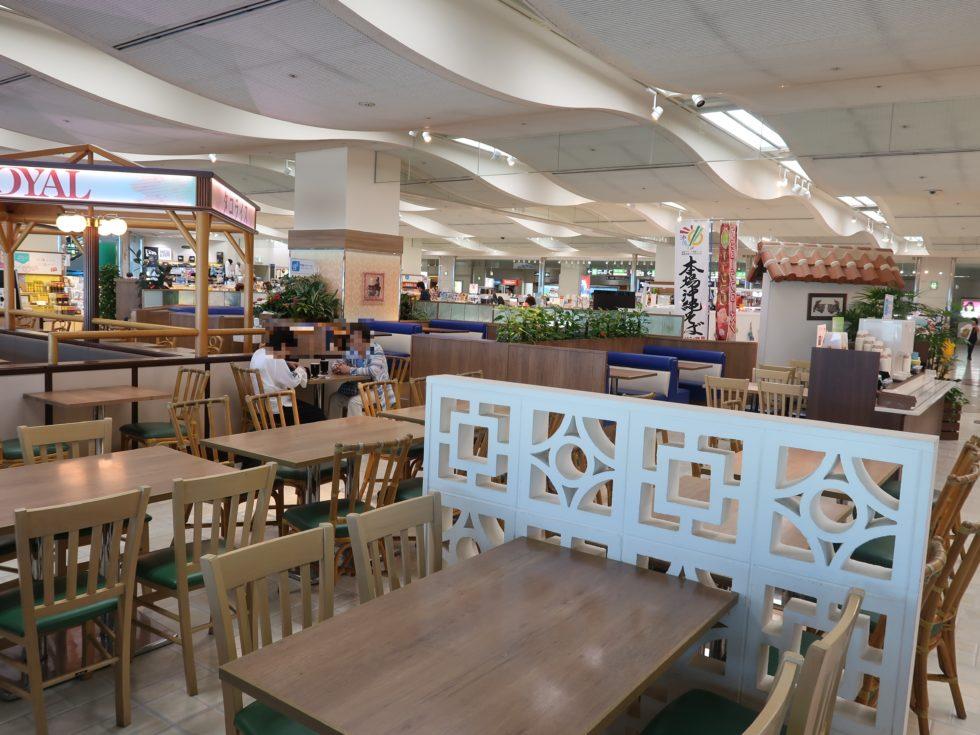 那覇空港のレストラン