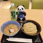 羽田空港国際線ターミナルの六厘舎で食べたつけ麺