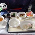中国国際航空ビジネスクラスの機内食