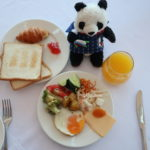 エカテリンブルクのホテルオネーギンの朝食ビュッフェ