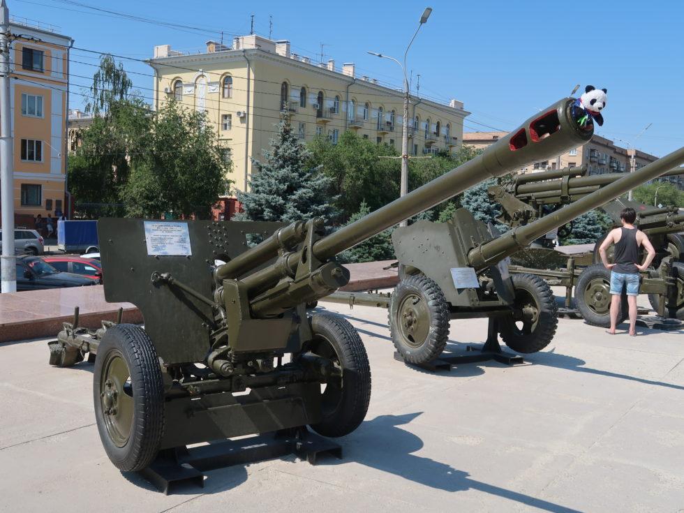 ロシアのヴォルゴグラードにあるスターリングラード攻防戦パノラマ博物館
