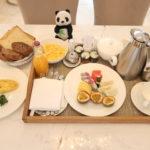 ベトナムのシェラトングランドダナンリゾートの朝食ルームサービス