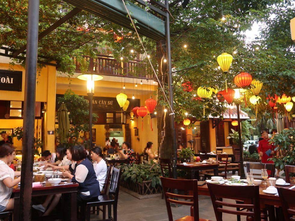 ベトナムダナンのマダムランレストラン