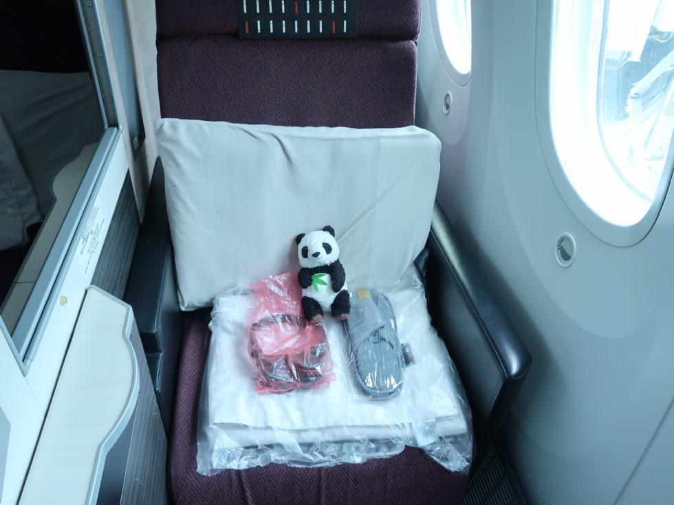 JAL国際線ビジネスクラスシート