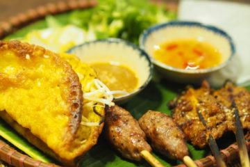 ベトナムホイアンのVy's Market Restaurantで食べたバインセオ