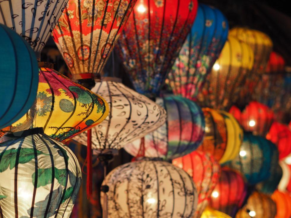 ベトナムホイアンのランタンフェスティバル