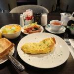 フォーポイントバイシェラトンオークランドの朝食ビュッフェ