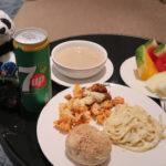 クアラルンプール空港ゴールデンラウンジサテライトの食事