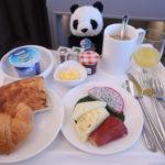 マレーシア航空ビジネスクラス機内食の朝食