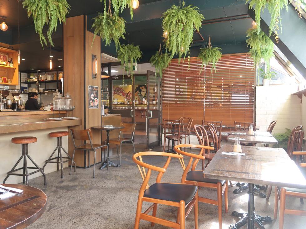 オーストラリアのシドニーにあるCALABURカフェ