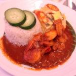 マレーシア航空ビジネスクラス機内食のナシレマ
