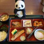 成田空港第2ターミナルの和食レストランそじ坊の朝の和定食