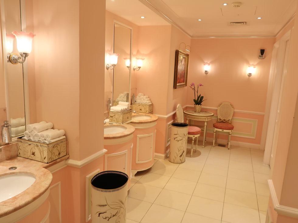 ザ・リッツロンドンのトイレ