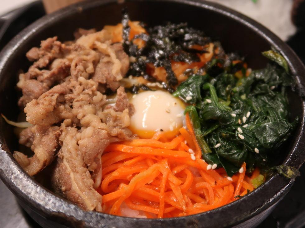香港のフードコート「フードリパブリック」で食べた石焼ビビンバ