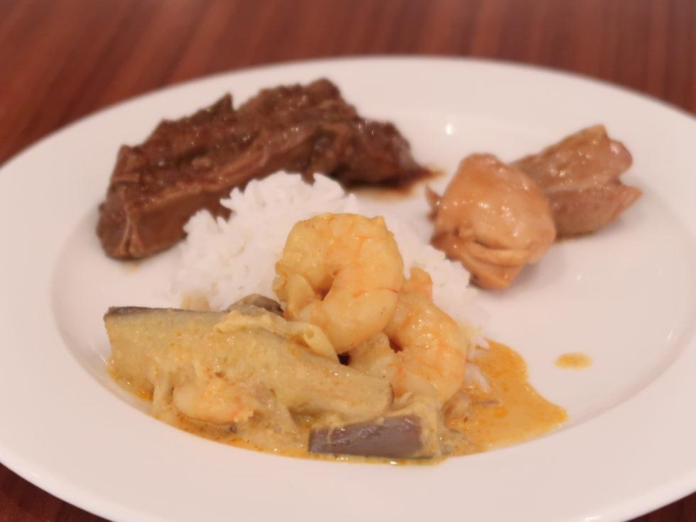 香港国際空港キャセイパシフィックファーストクラスラウンジTHE WINGで食べたランチ