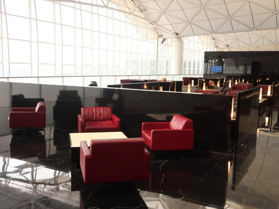 香港国際空港キャセイパシフィックファーストクラスラウンジTHE WING