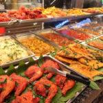 クアラルンプールのパビリオンにあるフードリパブリックのインディアンキュイジーヌで食べたカレー