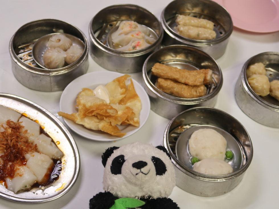 イポーの明閣香港點心で食べた朝ごはん
