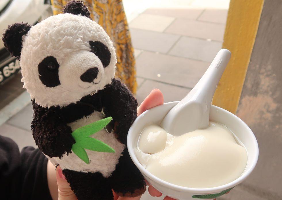 イポーの豆乳スイーツ店ファニーマウンテンで食べた豆腐花