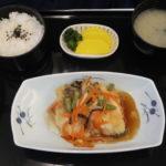 全日空国際線ビジネスクラスの和食機内食