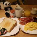 サンフランシスコのシェラトンフィッシャーマンズワーフで食べた朝食