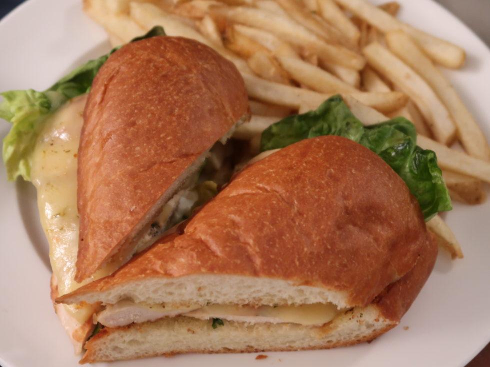シェラトンフィッシャーマンズワーフのサンドイッチ