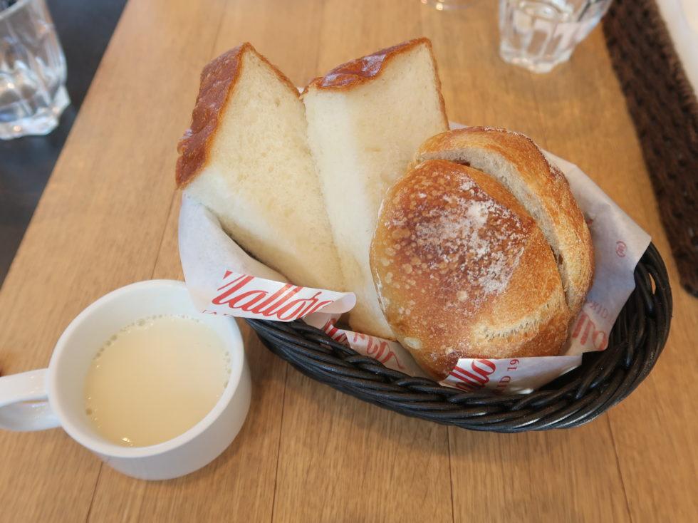 マヨルカ二子玉川店のパン