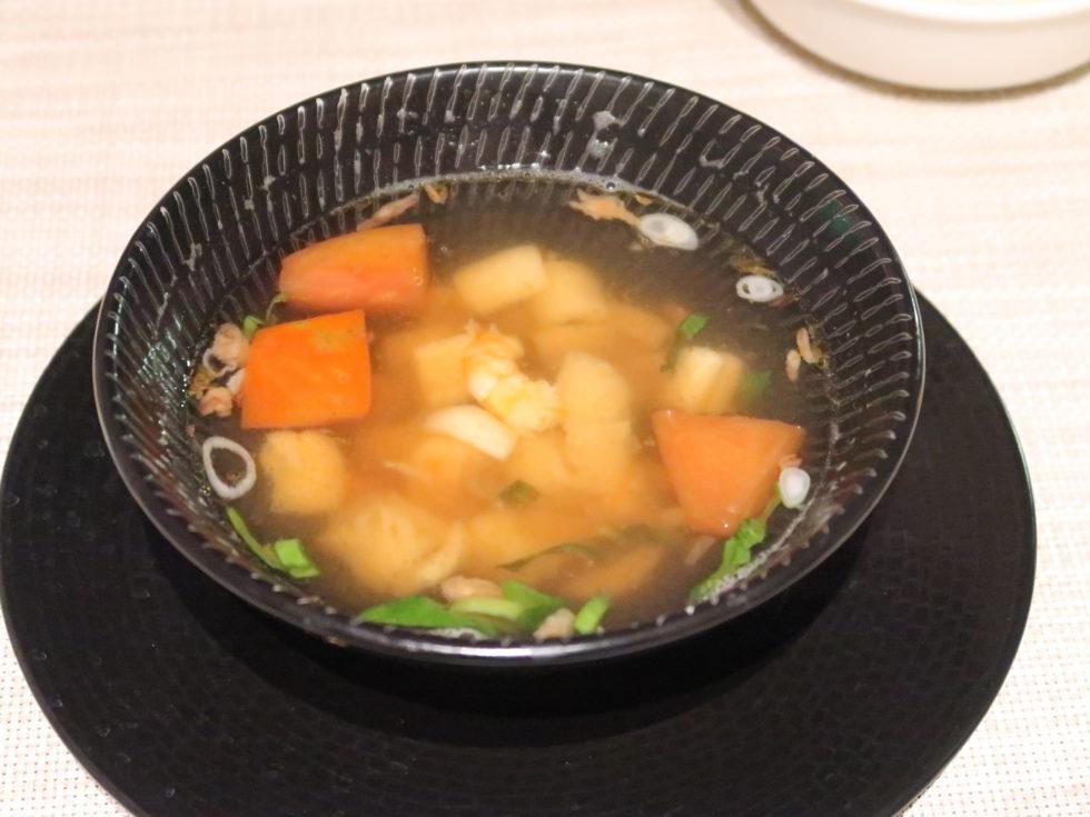 ビッグフィッシュバー&グリルのシーフードスープ