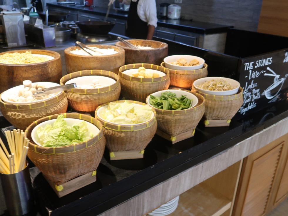 ザストーンズホテルレギャンバリオートグラフコレクション朝食ビュッフェのヌードルバー