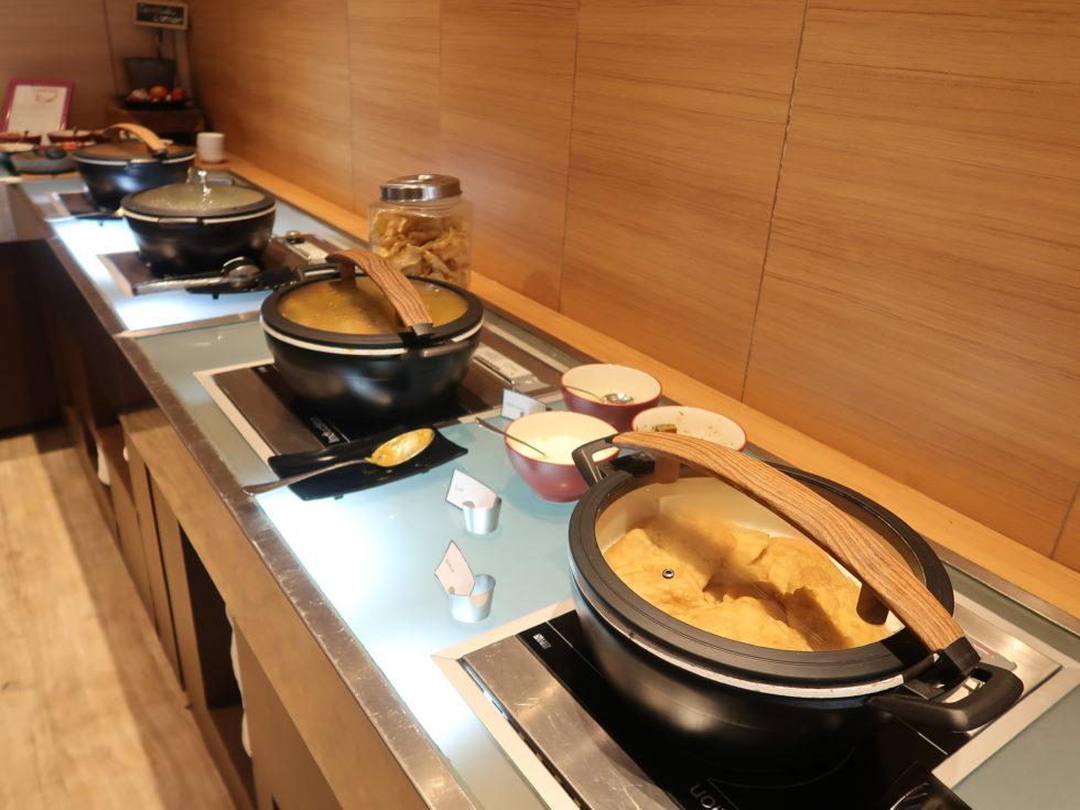 ザストーンズホテルレギャンバリオートグラフコレクション朝食ビュッフェのお料理