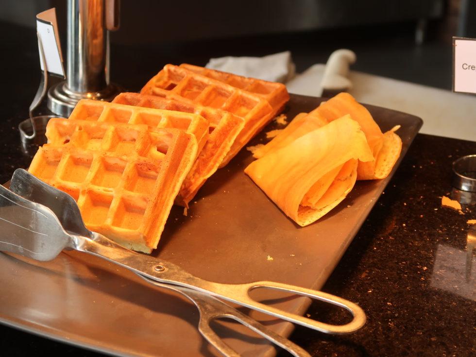 ザストーンズホテルレギャンバリオートグラフコレクション朝食ビュッフェのワッフル
