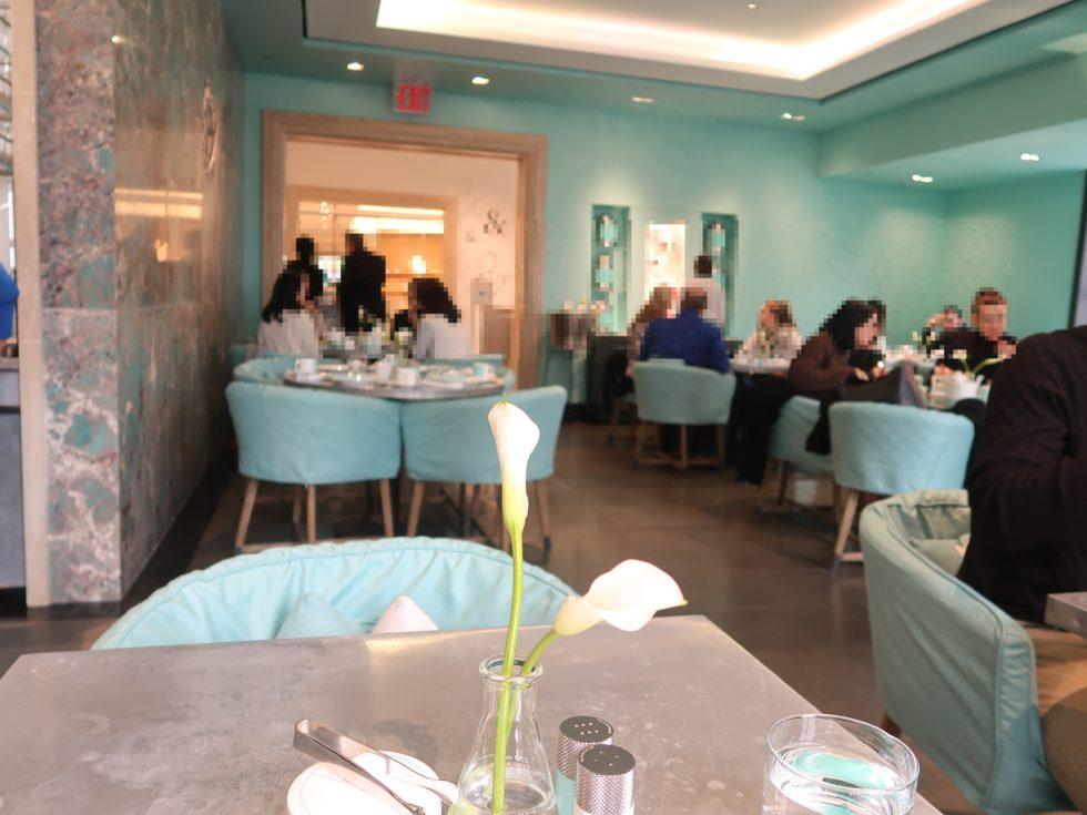 ティファニーのブルーボックスカフェ