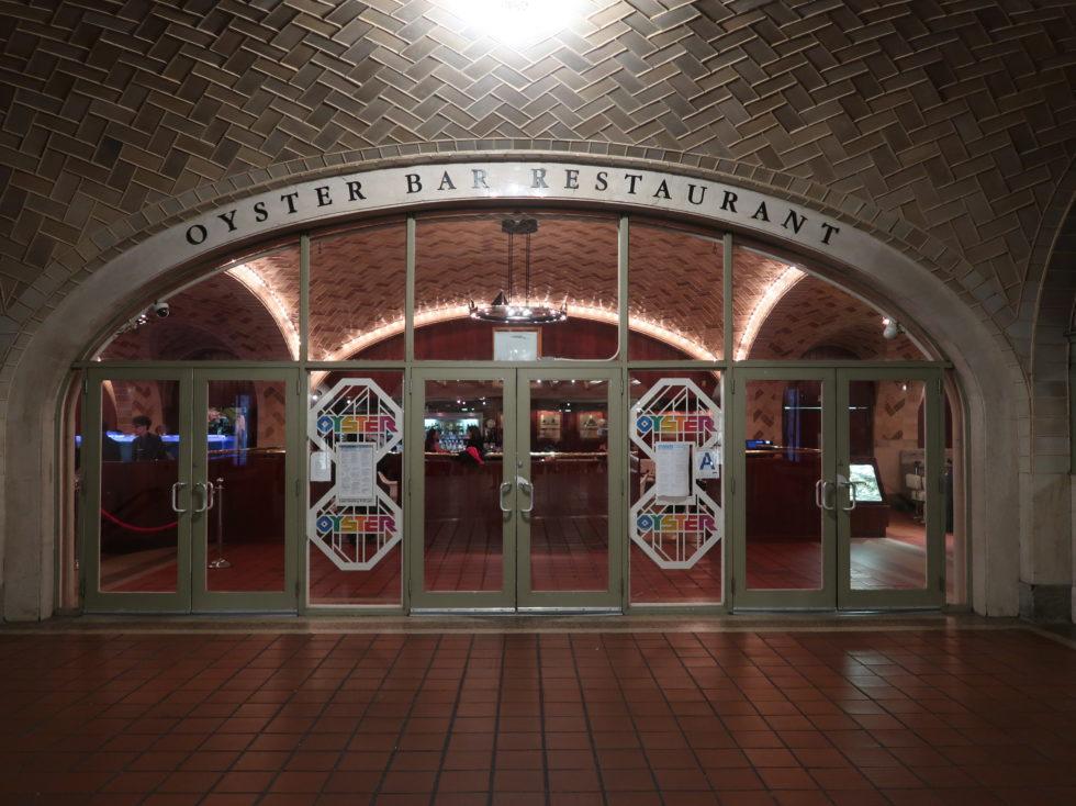 ニューヨークのグランドセントラルオイスターバー