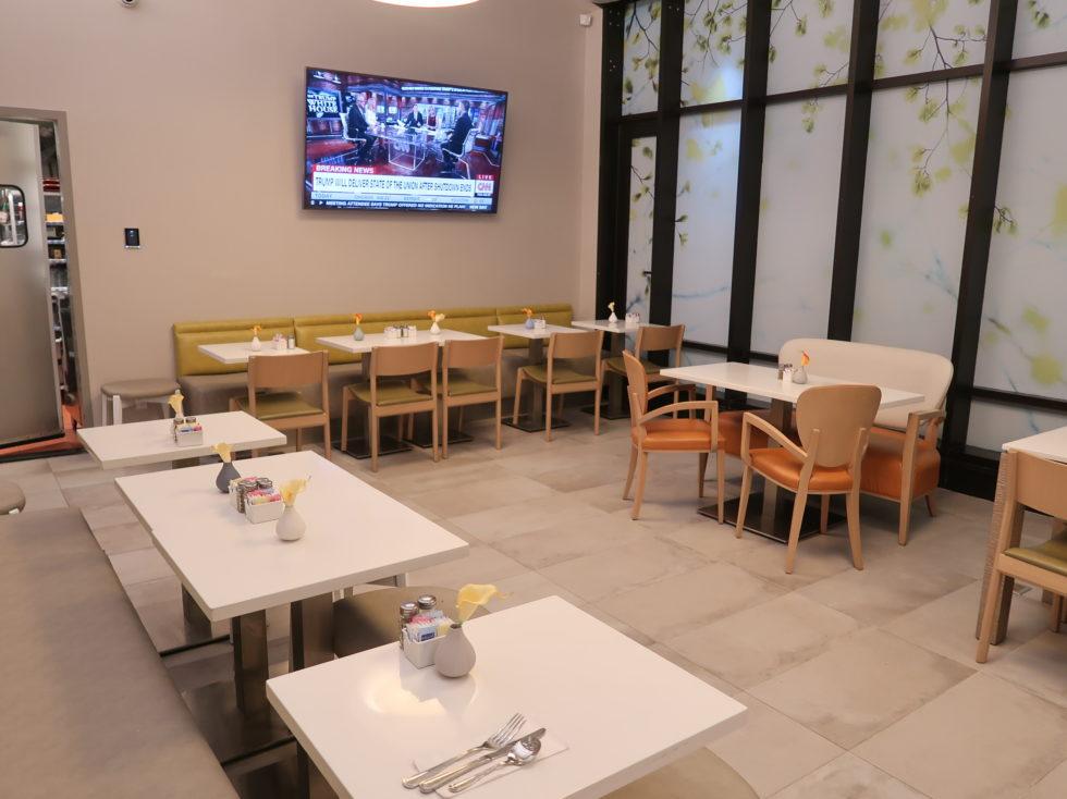 フォーポントバイシェラトンミッドタウンタイムズスクエアの朝食会場