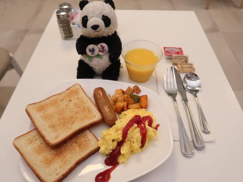 フォーポントバイシェラトンミッドタウンタイムズスクエアの朝食