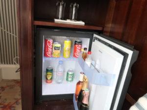パリのドカンズトリビュートポートフォリオホテルの冷蔵庫
