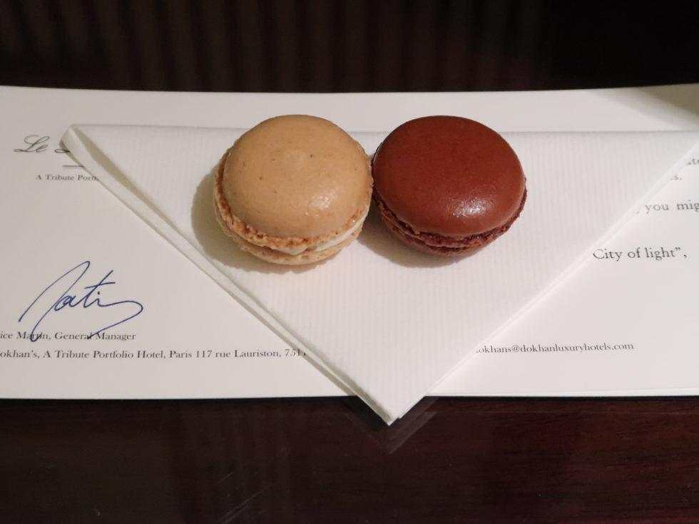 パリのドカンズトリビュートポートフォリオホテルのウェルカムスイーツ