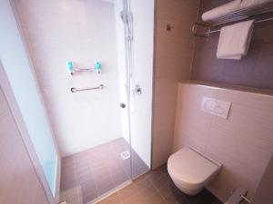 アロフトブリュッセルシューマンの客室バストイレ