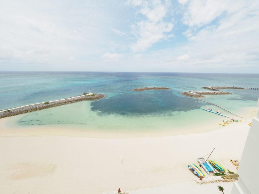 シェラトン沖縄サンマリーナリゾートオーシャンスイートルームからの景色