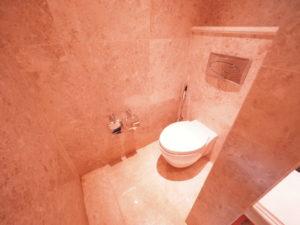 ベトナムのシェラトングランドダナンリゾートスイートルームのトイレ